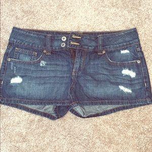 Charlotte Russe Size 8 Denim Shorts - Hardly Worn